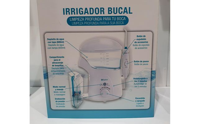 [company_name_branding] Irrigador bucal Farline